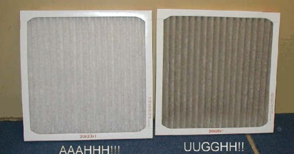 Changing Funace Filters In Time Furnace Filters Hvac Filters Air Filter Lights
