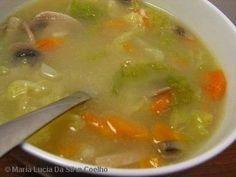 Sopa De Legumes Para Emagrecer Receita Sopas Receitas Receitas