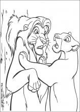 The Lion King Coloring Pages On Coloring Book Info King Coloring Book Lion Coloring Pages Disney Coloring Pages