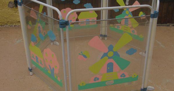 parc b b confort parois plastique transparent modulable. Black Bedroom Furniture Sets. Home Design Ideas