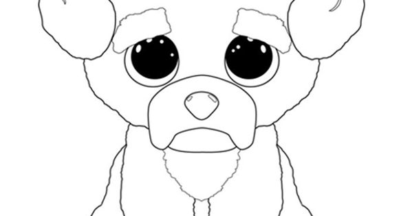 bunny beanie boo coloring pages - photo#22