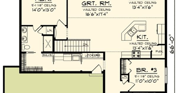 Plan 89908ah classic craftsman ranch house plan for Classic ranch home plans