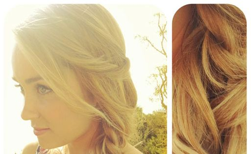 side braids for long hair | DIY Hair Tutorials: Lauren Conrad's Loose