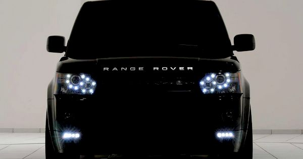 range rover. all black everything my future car!