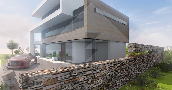 Modernes efh mit staffelgeschoss und flachdach by www flow architektur