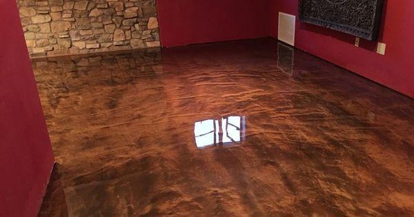 Copper Lava Flow Metallic Epoxy Metallic Epoxy Floor Epoxy Floor Epoxy