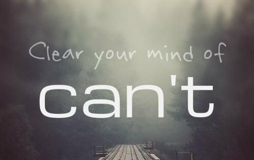 Clear Your Mind Of Cant | quote men's motivation inspiration lift weights