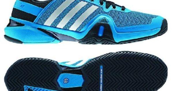 Adidas Men S Adipower Barricade 8 Tennis Shoe Solar Blue Running
