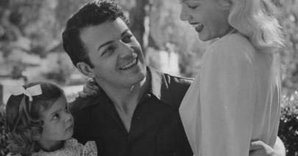 Cornel Wilde Wife Patricia Knight With Their Daughter