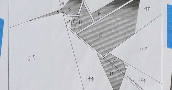 Paper Pieced Origami Hummingbird Pattern Bird Quilts