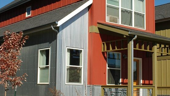 Corrugated Metal Siding A Modern Accent Corrugated
