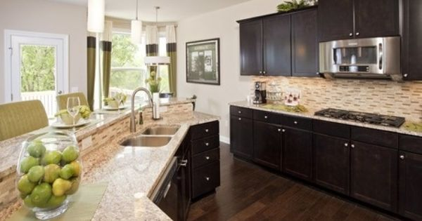 Pulte Homes Interior Newberry By Pulte Homes At Hidden Bluffs A Beautiful And Well Appointed Kitchen Cherie Pinterest Home Wells And