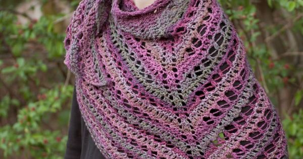 Knitted Hats Patterns Easy : Cascade Yarns Blog: Sweet Tea Shawl - Tangier #freepattern Free Knitting Pa...