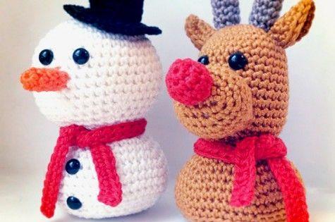 Amigurumi Sammy The Seal : FREE CROCHET Christmas Amigurumi by Dendennis CHRISTMAS ...
