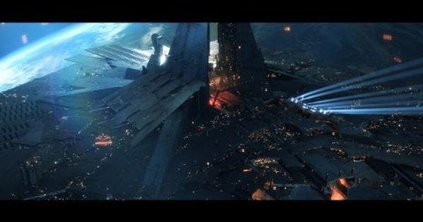 Eve Online Citadel Cinematic Trailer In 2020 Eve Online Cinematic Trailer Science Fiction Art Retro