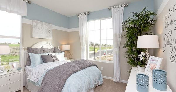 tranquil colors define this bedroom plan 8 a new home 11400 | 9dd6d4ffc393a371d76edc0dfd851a82