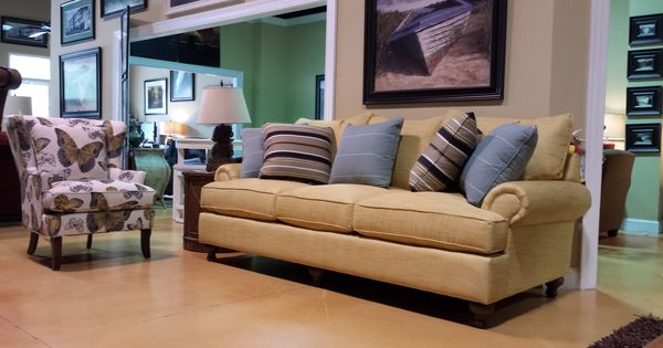Paula Deen Sofa By Craftmaster Complete Living Room Collection Featured At