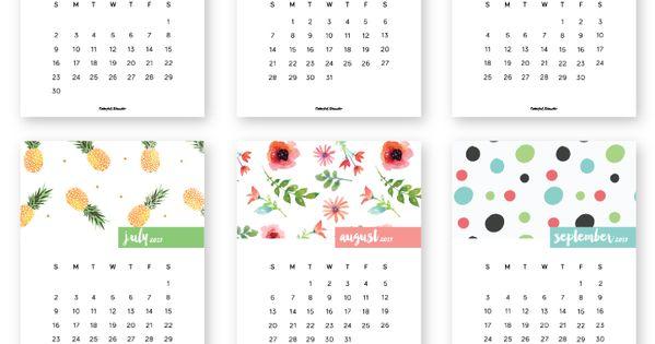 Calendar Ideas Y : Free printable calendar follow me prodanbenoli for