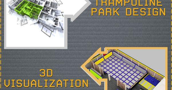 for Indoor trampoline park design manufacturing