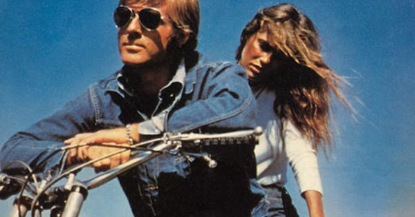 eats-rags: Robert Redford and Lauren Hutton in Big Fauss and Little Halsey,