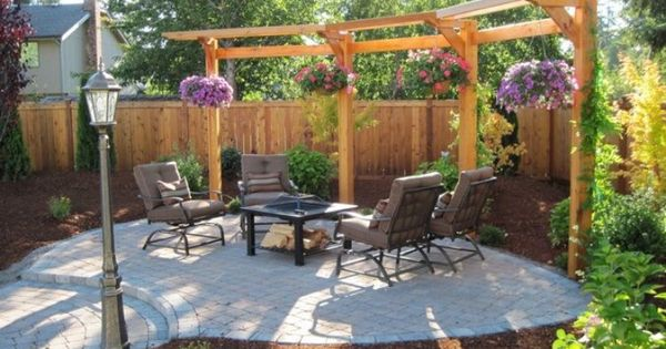 Pergola With Hanging Plants For The Outdoors Pinterest
