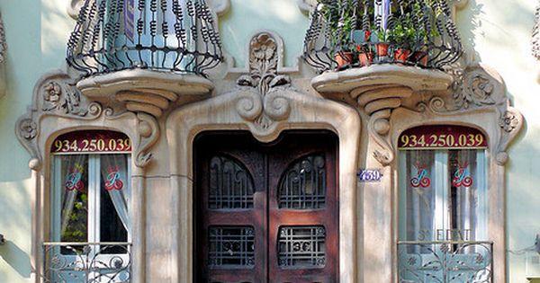 Art Nouveau architecture artnouveau door windows