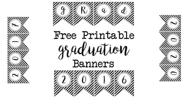 printable graduation banner