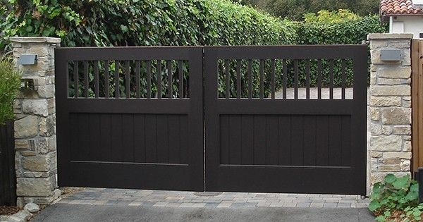 Driveway gate products i love pinterest för hemmet