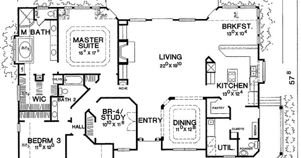 Marvelous one story country house plans house plans for Story about future plans
