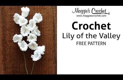 Crochet Snowdrop Flower Pattern Tutorial 75 Free Crochet ...