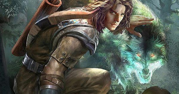 Warrior And His Spirit Animal ~Concept Art By Ashram