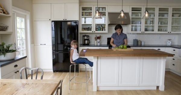 Unstained white oak plank white oak floors in their for Unstained hardwood floors