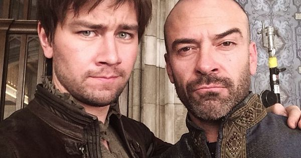 King Henry - Alan Van Sprang, and his bastard son ...