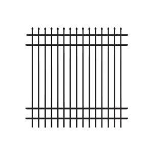 Us Door Fence Pro Series 4 84 Ft H X 7 75 Ft W Navajo White Steel Fence Panel F2ghds93x58nwus Metal Fence Panels Fence Panels Steel Fence Panels