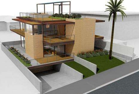 Eco prefab homes arquitetura for Progetti di ville moderne