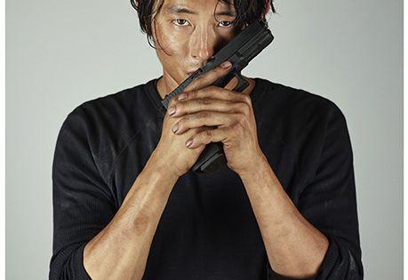 'Walking Dead': New EW Character Portraits, Glenn Rhee. Love this, Glenn is