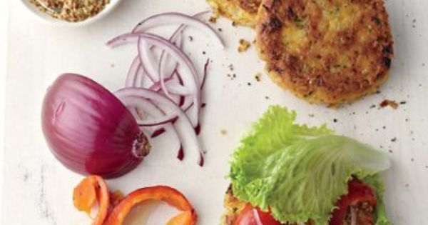 Healthy Brown Rice Recipes (via Chickpea-Brown Rice Veggie Burger ...