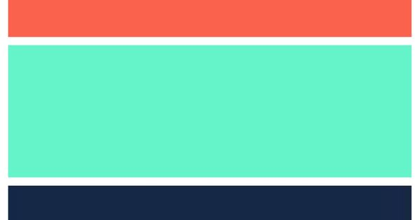 Teal Navy And Coral Color Scheme For The Home
