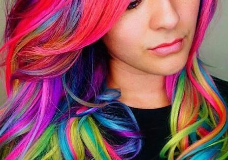 50 Cool Ideas of Lavender Ombre Hair and Purple Ombre  Mehrfarbiges ...