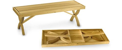 Folding Bench Plan By Lee Valley Lee Valley Tools Folding Bench Folding Picnic Table Bench Plans