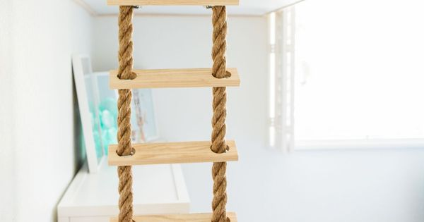 In The Nursery With Lunchpails Lipstick Rope Ladder
