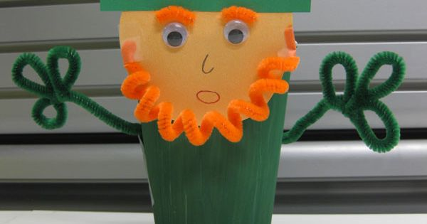 St Patricks, preschool idea