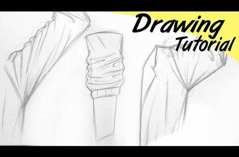 Cara Menggambar Baju