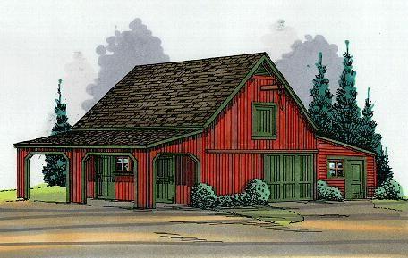Horse barn plans my hobby farm pinterest building a for Hobby barn plans