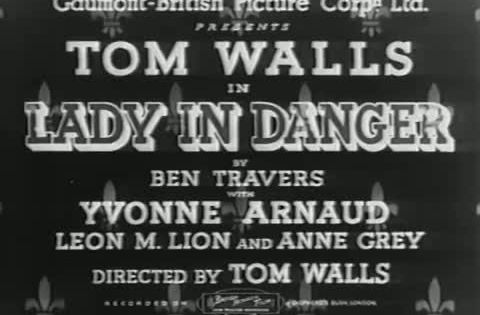 Lady In Danger 1934 Old Movies I Movie Dangerous