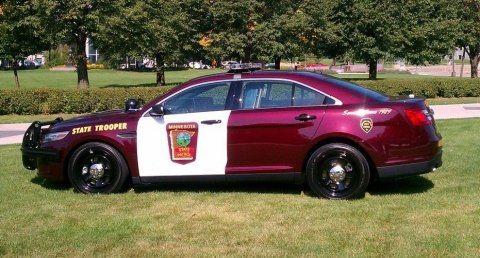 Minnesota State Police Ford Interceptor Old Police Cars Police