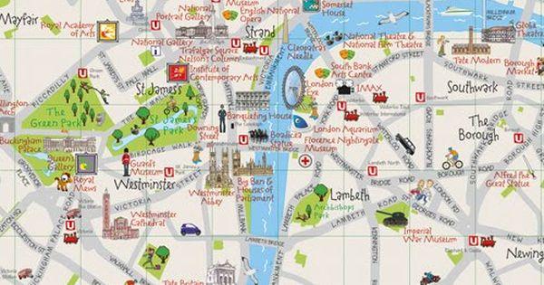 Collins Maps Blog Collins Children S London Map Mapa