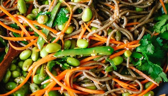 Sugar snap peas, Soba noodles and Snap peas on Pinterest
