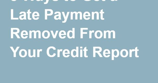 how to clear your credit record