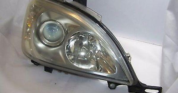 02 05 Mercedes Benz Ml500 Headlight Head Lamp Rh Right Car Restoration Vehicle Parts Auto Parts